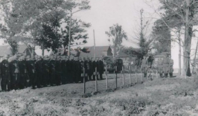 Испанское кладбище. 1941 г.