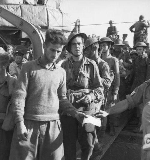 Австралийцы возвращаются в Александрию после греческой кампании. Июнь 1941 г.