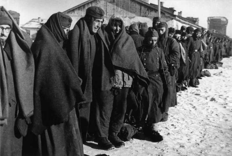 Немецкие военнопленные.