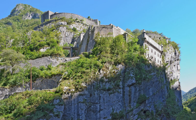 Общий вид форта Порталет.