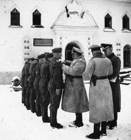 Награждение немецких солдат в Кремле. 1942 г.