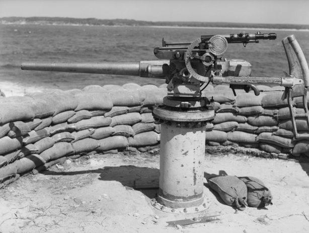 Береговая оборона. Сидней, Новый южный Уэльс. 24 января 1942 г.