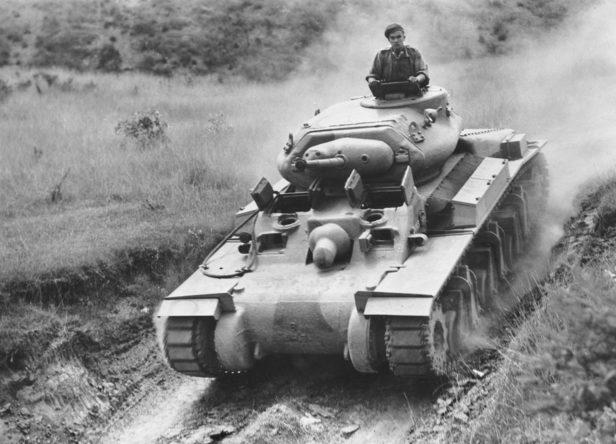 Австралийский крейсерский танк Mk. 1 «Страж». Январь 1942 г.
