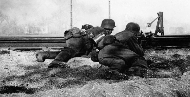 Бой в районе Ржева. Май 1942 г.