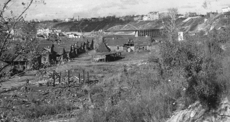 Вид оккупированного Ржева. Август 1942 г.