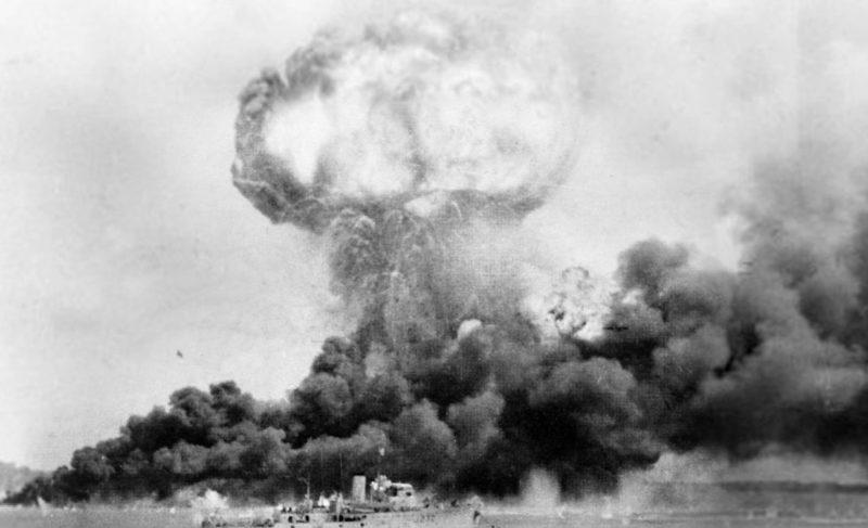 Первый воздушный налет на город Дарвин. 19 февраля 1942 г.
