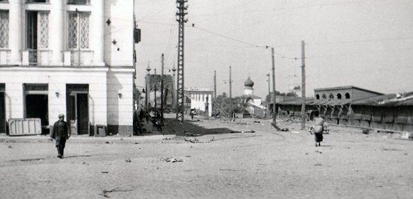 Торговая площадь. Июль 1941 г.