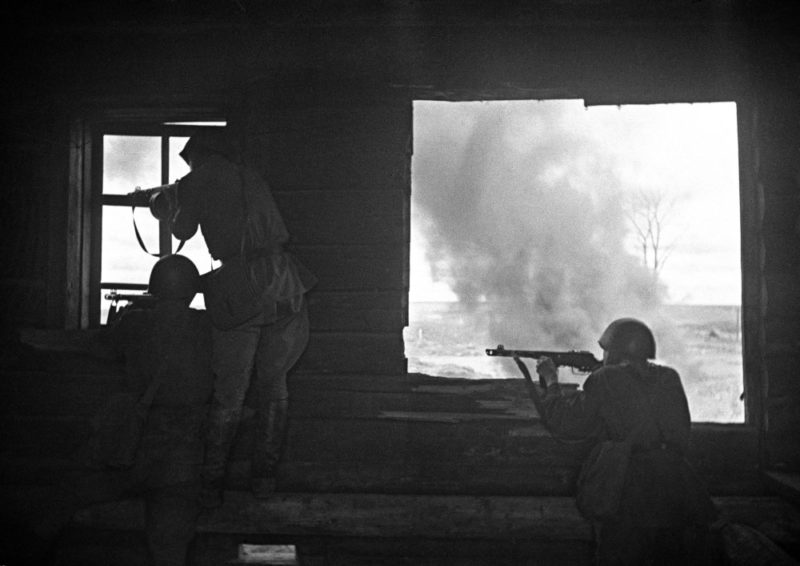 Бой у Ржева. Октябрь 1942 г.