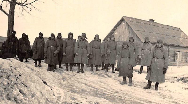 Местный концлагерь Дулаг-130. Декабрь 1941 г.