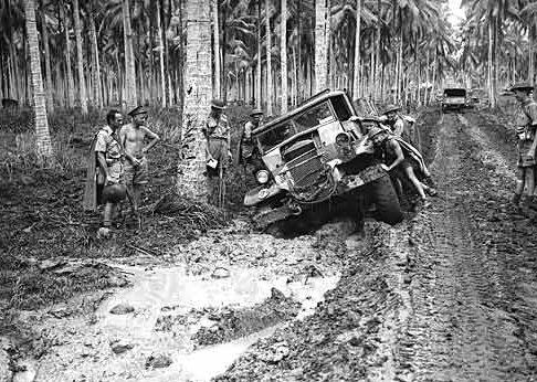 Дорога в Милн-Бэй. Октябрь 1942 г.