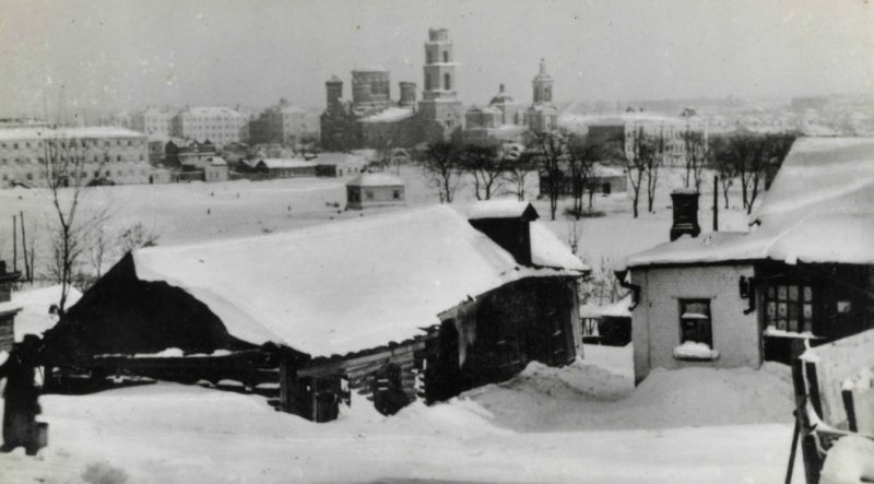 Улицы оккупированного Орла. Январь 1943 г.