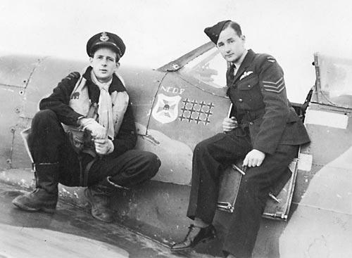 Пилоты 452-й эскадрильи RAAF. 15 марта 1943 г.