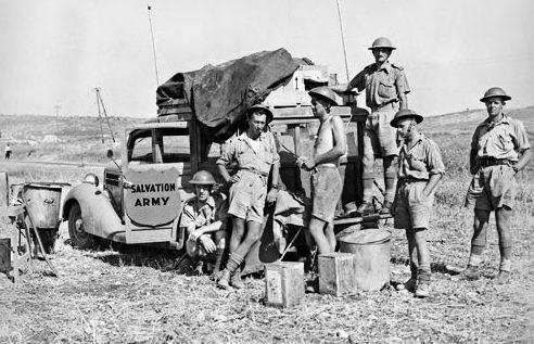 Во время продвижения австралийских войск в Сирию. Март 1943 г.