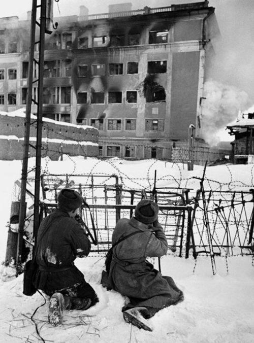 Бой за город. 25 января 1943 г.
