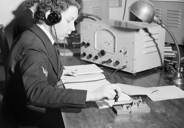Женщины- члены Королевской австралийской военно-морской службы (WRANS). 1943 г.