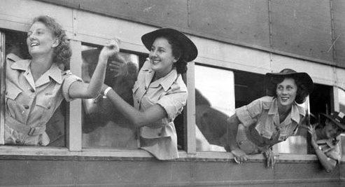 Австралийские женщины армейской службы (AWAS). 1943 г.