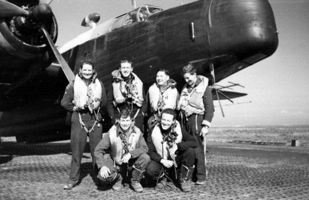 458-я бомбардировочная эскадрилья RAAF в Алжире. 1943 г.