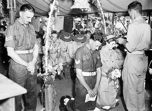 Венчание в день, когда закончилась война. 15 августа 1945 г.