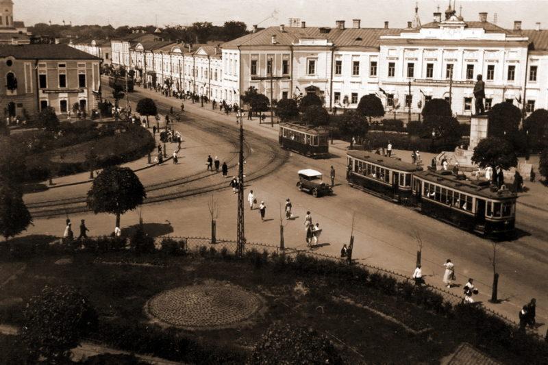 Площадь Ленина. 1940 г.