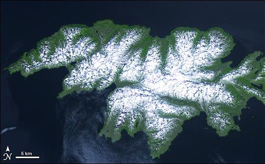 Остров Атту. Аляска.