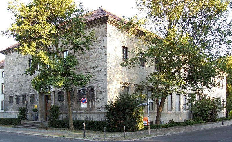 Здание Восточного министерства. Берлин, Раухштрассе 17-18.