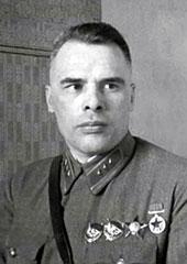 Первый командующий фронтом Кузнецов Ф.И.