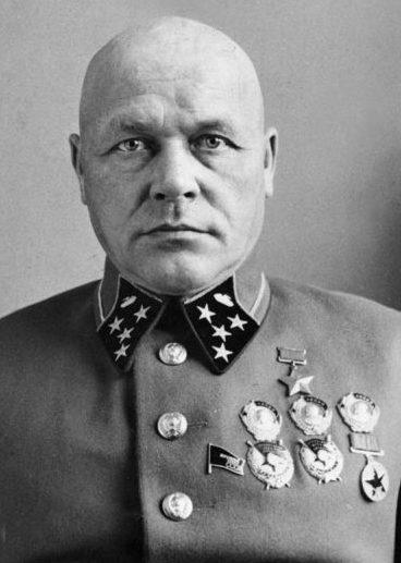 Командующий Западным фронтом генерал армии Д.Г. Павлов.