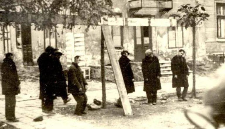 Первые казни в оккупированном городе. 17 октября 1941 г.