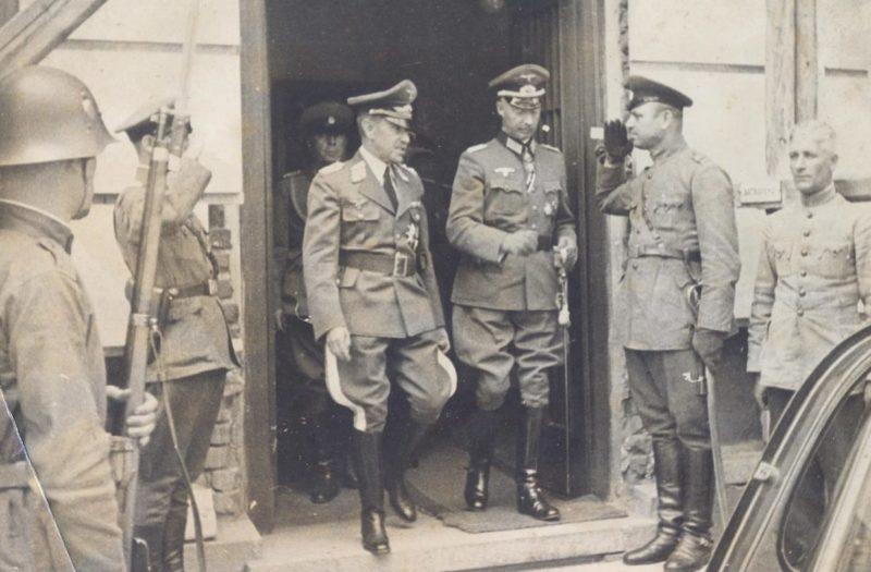 Немецкие офицеры в Болгарии. 1939 г.