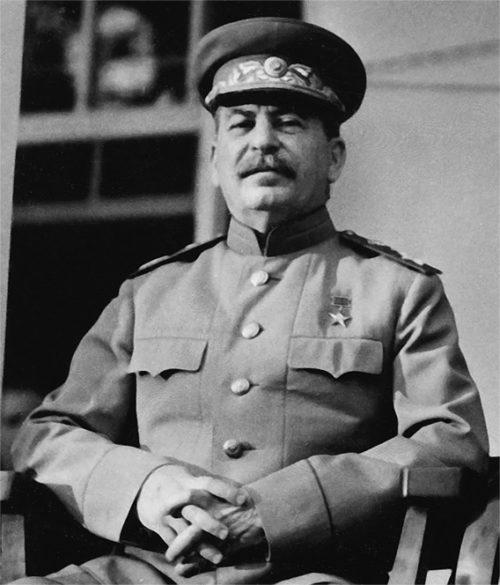 Й.В. Сталин - Верховный главнокомандующий.