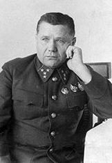 Командующий фронтом А. И. Ерёменко.