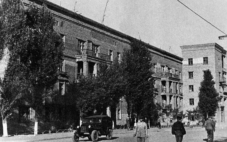 Проспект Ленина. 1940 г.