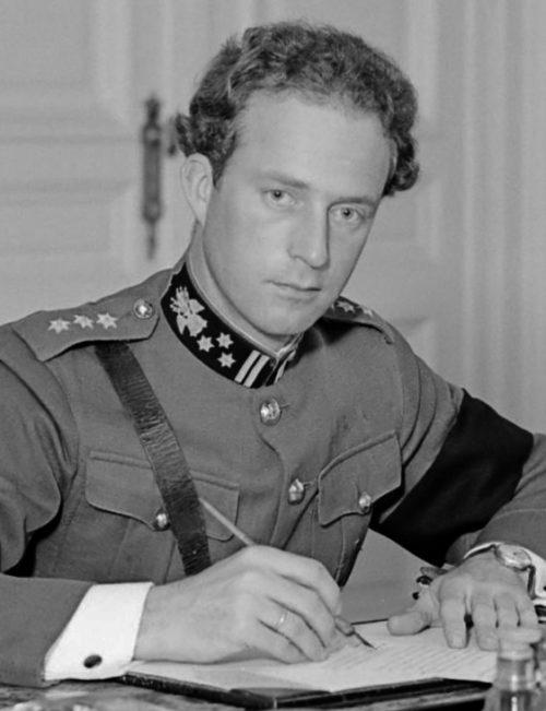 Король Бельгии Леопольд III. 1934 г.