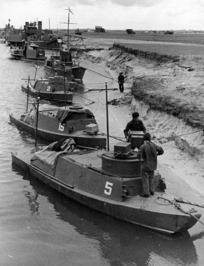 Пинская флотилия в обороне Киева.