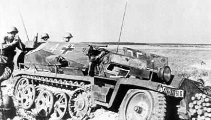 Немецкое наступление. Июль 1941 г.