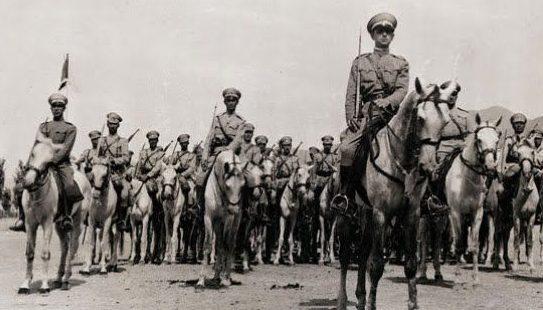 Иранская кавалерия. Август 1941 г.