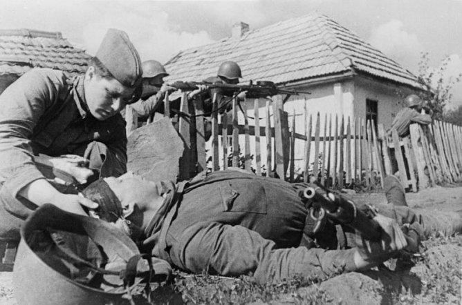 Калининский фронт. Июль 1942 г.