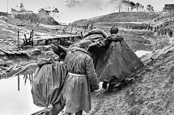 Район Невской Дубровки. 1 октября 1941 года.