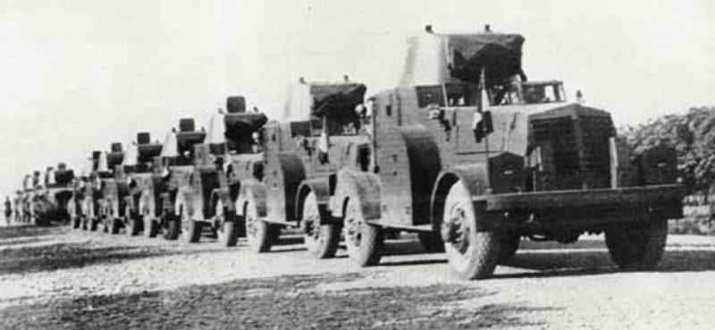 Британские войска продвигаются вглубь Ирана.