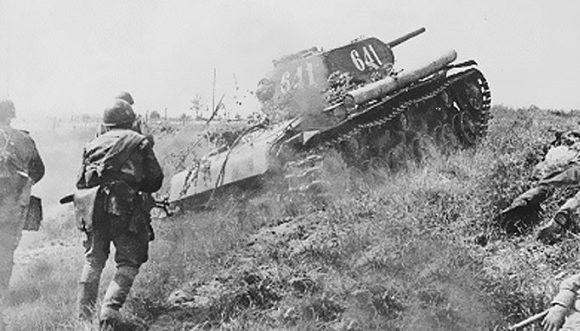 Атака Красной Армии.