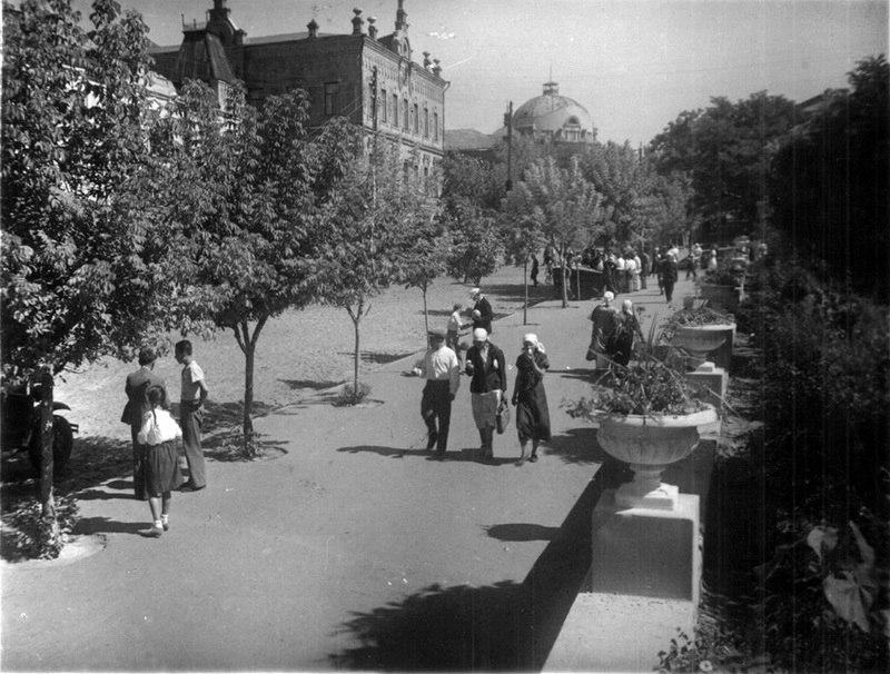 Улица Чекистов. 1940 г.