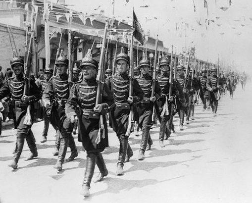 Иранская пехота. Август 1941 г.