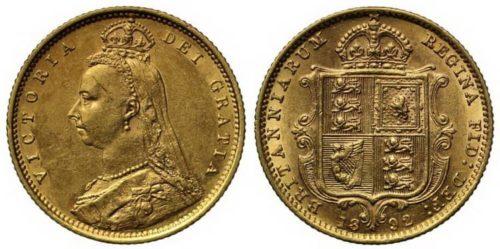 Британские соверены, составлявшие 70% золотого запаса Испании.