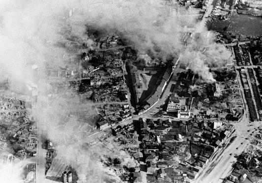 Бомбардировка Витебска. Июнь 1941 г.