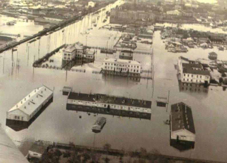 Наводнение в Пересыпе.