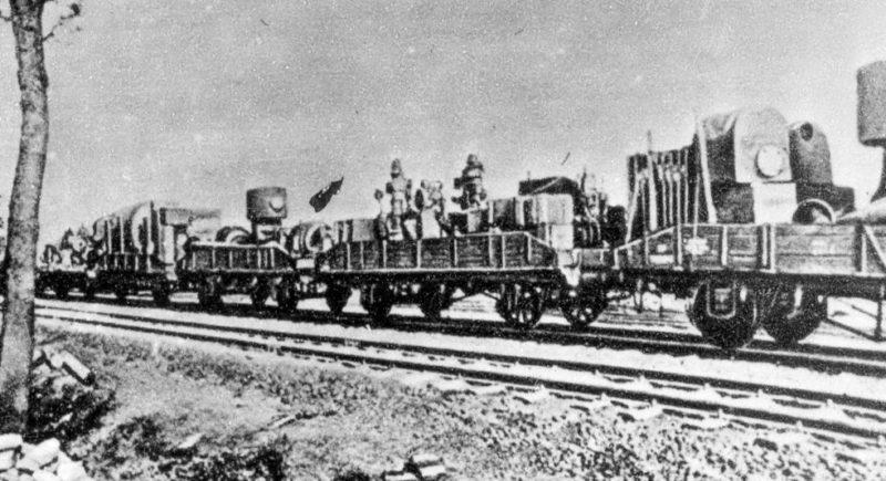 Эвакуация Брянского машиностроительного завода. Июль 1941 г.