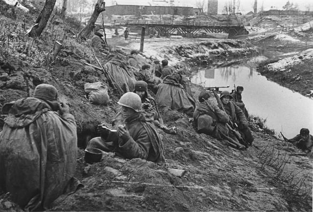 Восстановленный «Невский пятачок» в 1942 году.