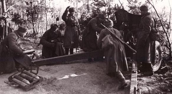 Бой за Калинин. Октябрь 1941 г.