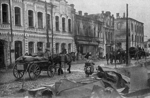 Немецкие войска занимают Рославль.