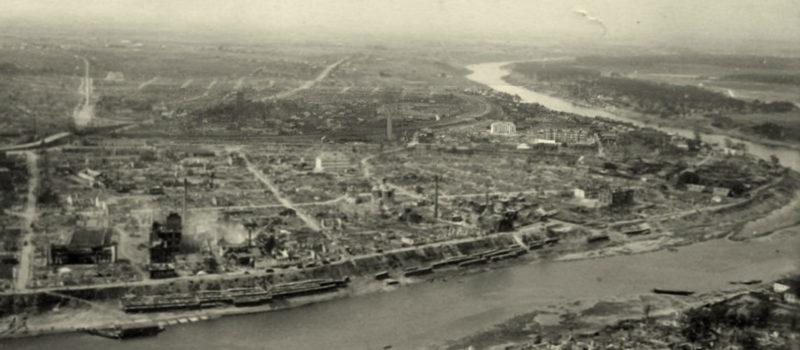 Панорама Задвинья после бомбардировок. Июнь 1941 г.